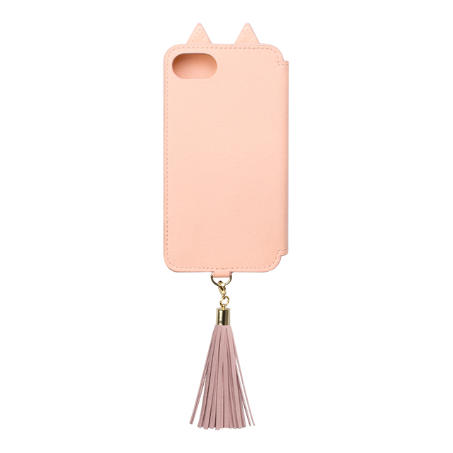 【iPhone8/7/6s/6 ケース】Tassel Tail Cat for iPhone8/7/6s/6(PINK)サブ画像
