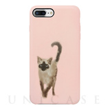 【iPhone8 Plus ケース】OOTD CASE  for iPhone8 Plus/7 Plus/6s Plus /6 Plus (wartery siam cat)