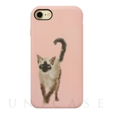 【iPhone8/7/6s/6 ケース】OOTD CASE  for iPhone8/7/6s/6 (wartery siam cat)
