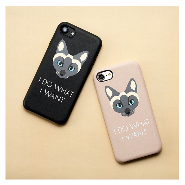 【iPhone8/7/6s/6 ケース】CAT CASE for iPhone8/7/6s/6 BLACKサブ画像