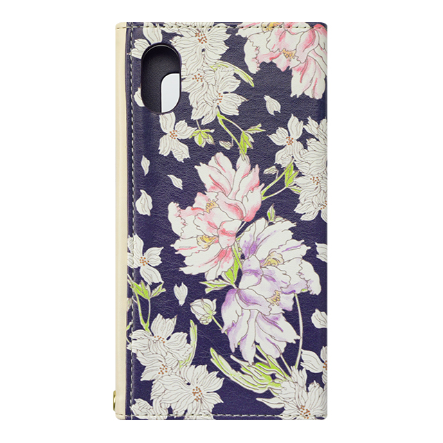 【iPhoneX ケース】Flower Series mirror case for iPhoneX(Chic Peony)サブ画像