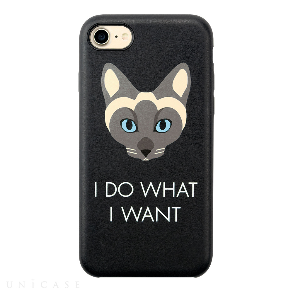 【iPhone8/7/6s/6 ケース】CAT CASE for iPhone8/7/6s/6 BLACK