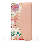 【iPhoneX ケース】Flower Series mirror case for iPhoneX(Warm Pink)