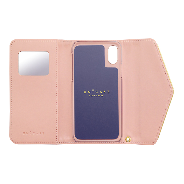 【iPhoneX ケース】Flower Series mirror case for iPhoneX(Warm Pink)サブ画像