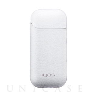 【IQOS(アイコス)ケース】IQOS Texture Jacket Frost (Clear)