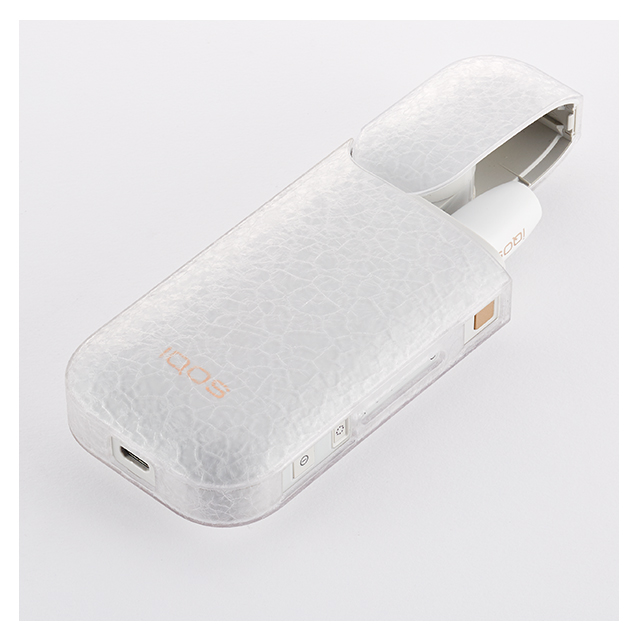 【IQOS(アイコス)ケース】IQOS Texture Jacket Frost (Clear)サブ画像