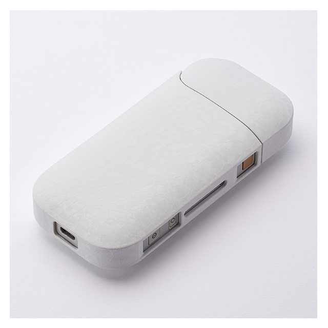 【IQOS(アイコス)ケース】IQOS Texture Jacket Frost (White)