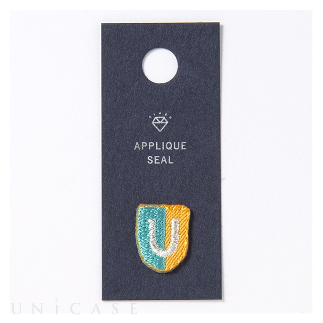 APPLIQUE SEAL initial (U)