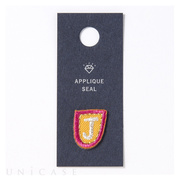 APPLIQUE SEAL initial (J)