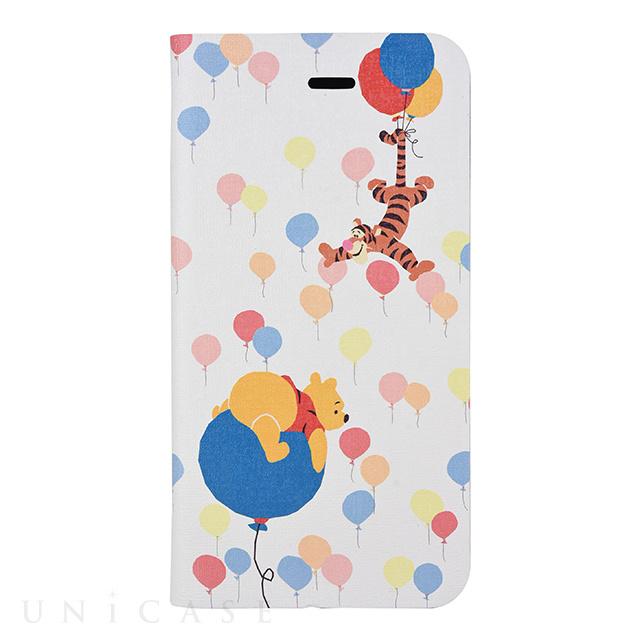 【iPhone8/7 ケース】くまのプーさん フリップカバー (バルーン)