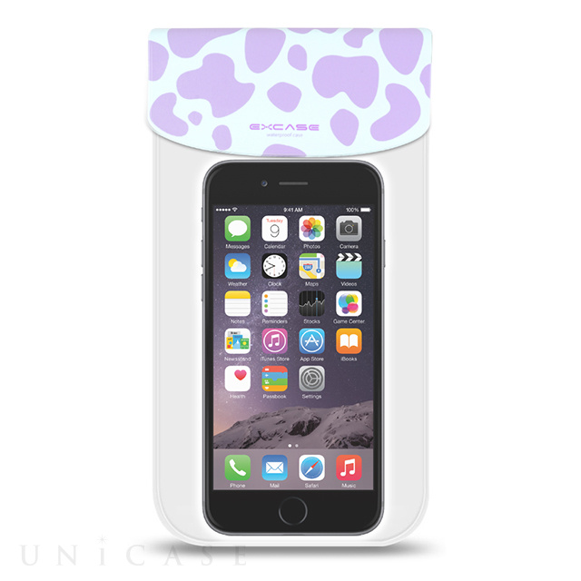 【スマホポーチ】EXCASE Dalmatian Series (Purple)