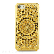 【iPhone8/7 ケース】Kaleidoscope (Gold)