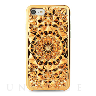 【iPhone7 ケース】Kaleidoscope (Rose Gold)