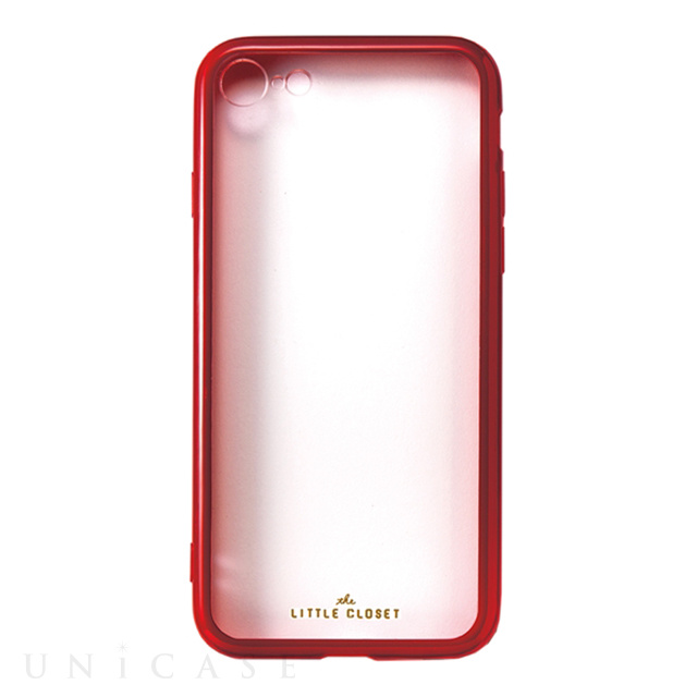 【iPhone8/7 ケース】LITTLE CLOSET iPhone case (RED)