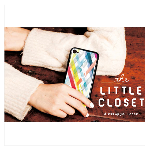 【iPhone8/7 ケース】LITTLE CLOSET iPhone case (RED)サブ画像