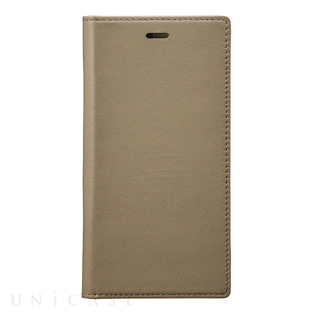 【iPhoneXS/X ケース】Full Leather Case (Taupe)