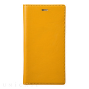 【iPhoneX ケース】Full Leather Case (Yellow)