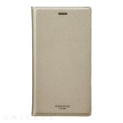 "【iPhoneX ケース】""EURO Passione"" Book PU Leather Case (Silver)"