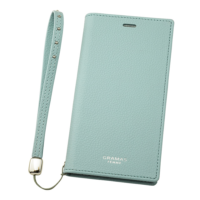 "【iPhoneXS/X ケース】""Colo"" Book PU Leather Case (Light Blue)サブ画像"