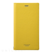 "【iPhoneXS/X ケース】""Colo"" Book PU Leather Case (Yellow)"