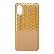 "【iPhoneX ケース】""Hex"" Hybrid Case (Gold)"