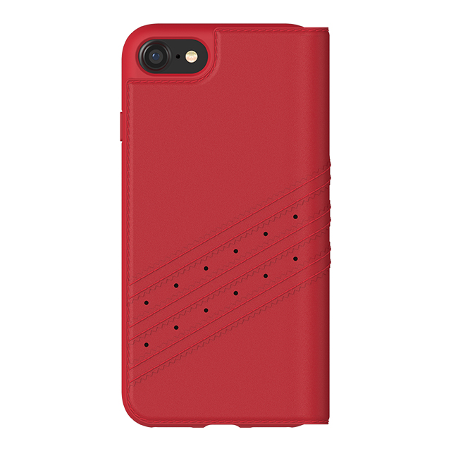 【iPhoneSE(第2世代)/8/7/6s/6 ケース】Booklet case (Royal Red/White)goods_nameサブ画像