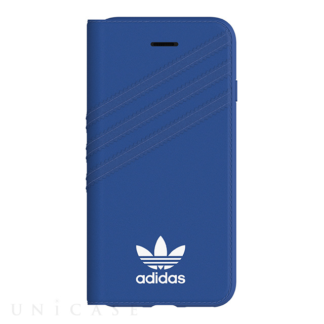 【iPhoneSE(第2世代)/8/7/6s/6 ケース】Booklet case (Collegiate Royal/White)