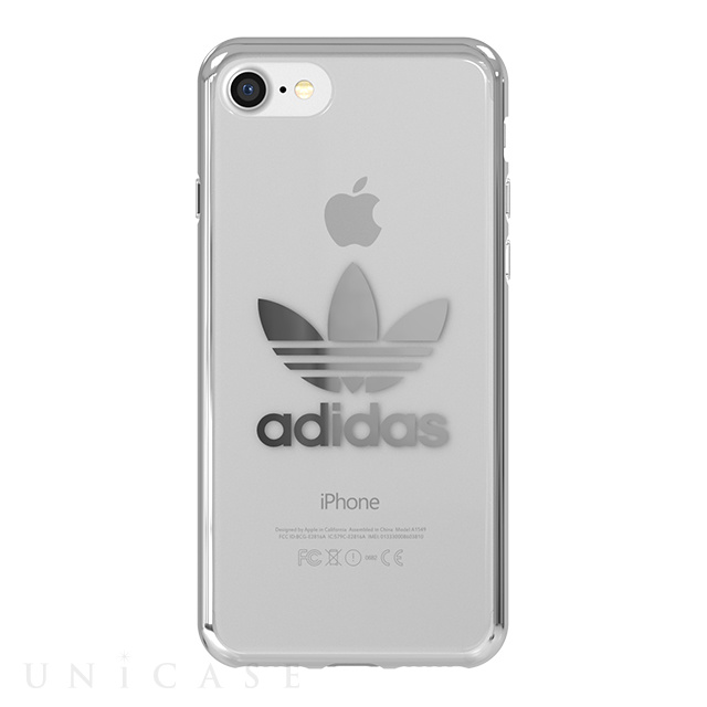 【iPhoneSE(第2世代)/8/7 ケース】Clear Case (Silver logo)
