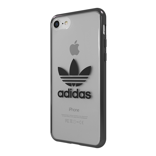 【iPhone8/7 ケース】Clear Case (Gunmetal logo)サブ画像