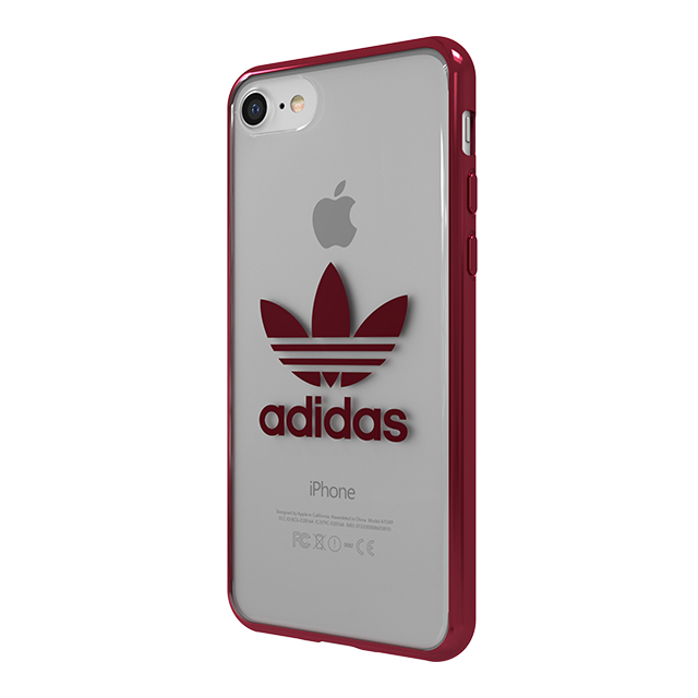 【iPhone8/7 ケース】Clear Case (Burgundy logo)サブ画像