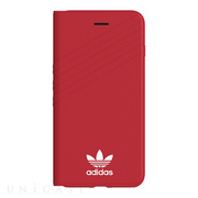 【iPhone8 Plus/7 Plus ケース】Booklet case (Royal Red/White)