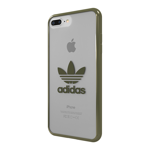 【iPhone8 Plus/7 Plus ケース】Clear Case (Military Green logo)サブ画像