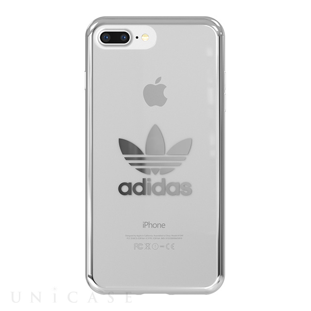 【iPhone8 Plus/7 Plus ケース】Clear Case (Silver logo)