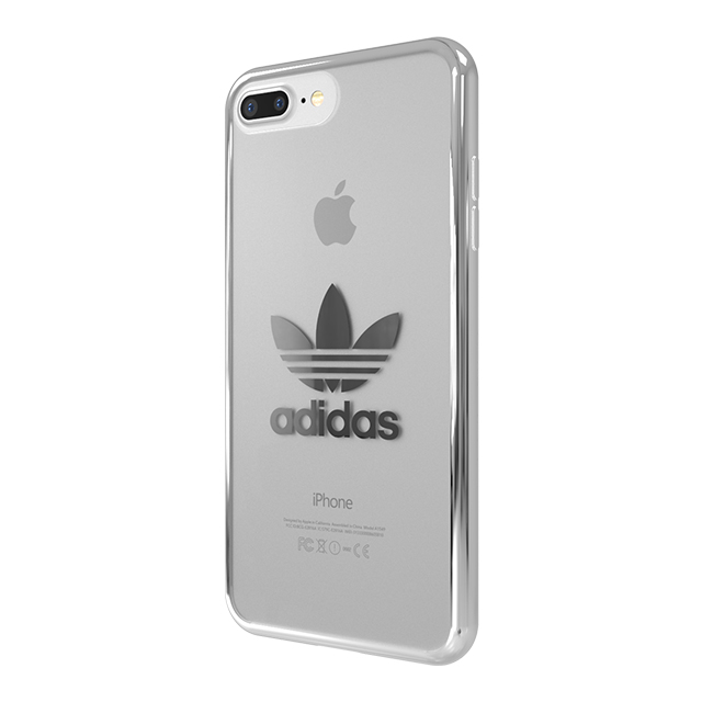 【iPhone8 Plus/7 Plus ケース】Clear Case (Silver logo)サブ画像