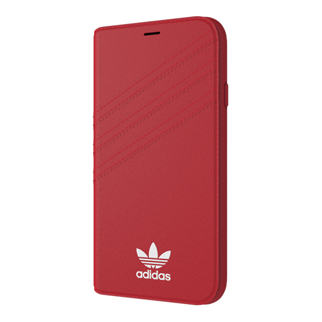 【iPhoneXS/X ケース】Booklet case (Royal Red/White)サブ画像