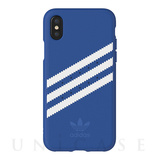 【iPhoneX ケース】Moulded case (Collegiate Royal/White)