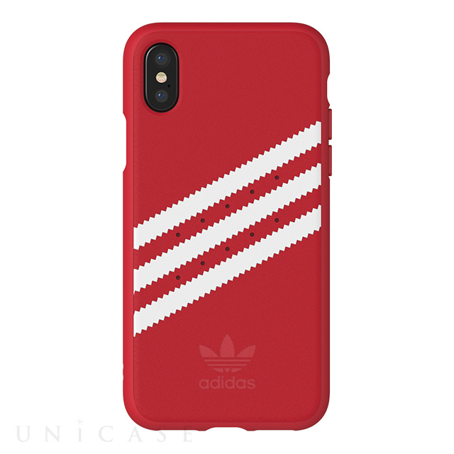 【iPhoneX ケース】Moulded case (Royal Red/White)