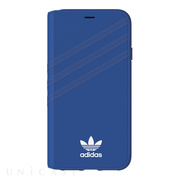 【iPhoneXS/X ケース】Booklet case (Collegiate Royal/White)