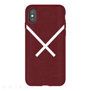 【iPhoneXS/X ケース】XBYO Moulded case (Collegiate Burgundy)