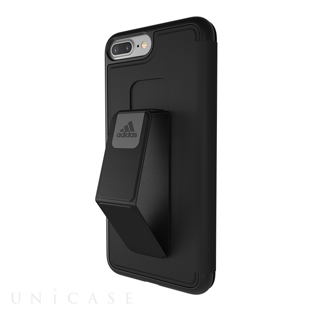 【iPhone8 Plus/7 Plus ケース】Folio Grip Case (Black)