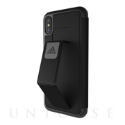 【iPhoneX ケース】Folio Grip Case (Black)