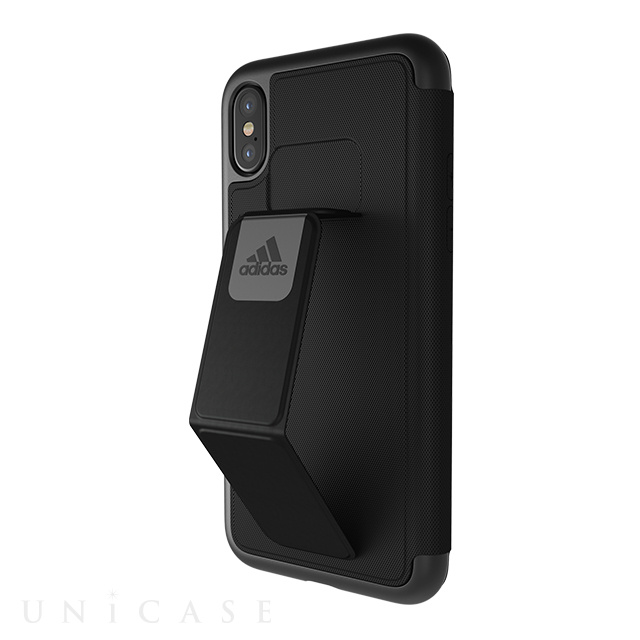 【iPhoneXS/X ケース】Folio Grip Case (Black)