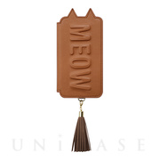 【iPhoneXS/X ケース】Tassel Tail Cat for iPhoneXS/X(CAMEL)