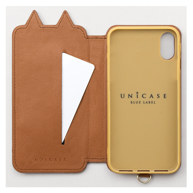 【iPhoneXS/X ケース】Tassel Tail Cat for iPhoneXS/X(CAMEL)サブ画像