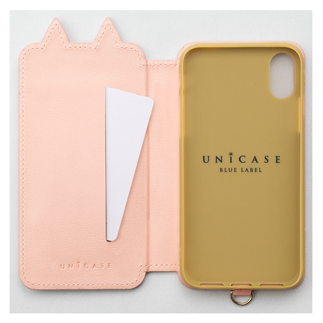 【iPhoneX ケース】Tassel Tail Cat for iPhoneX(PINK)サブ画像