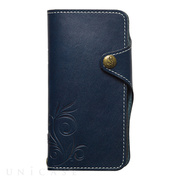 【iPhoneXS/X ケース】SMART LEATHER (NAVY)