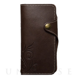 【iPhoneX ケース】SMART LEATHER (BROWN)