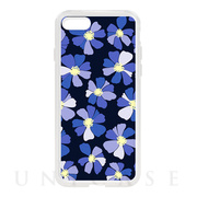 【iPhone8/7 ケース】HYBRID CASE for iPhone8/7 (Navy Blossom)