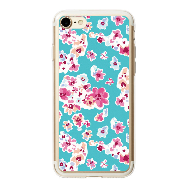 【iPhone8/7 ケース】HYBRID CASE for iPhone8/7 (Mint Blossom)サブ画像