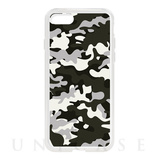 【iPhone8/7 ケース】HYBRID CASE for iPhone8/7 (Black Camo)